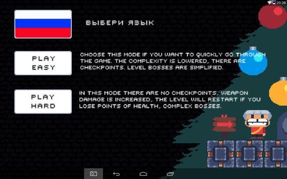 Christmas pixel platformer screenshot 8