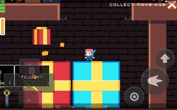 Christmas pixel platformer screenshot 10