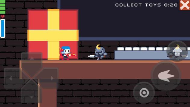 Christmas pixel platformer screenshot 1