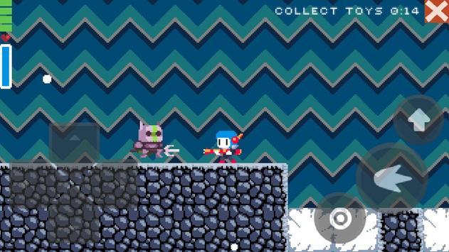 Christmas pixel platformer screenshot 2