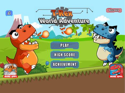 T-Rex World Adventure apk screenshot