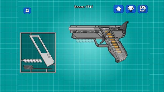 Assemble Toy Gun Pistol poster