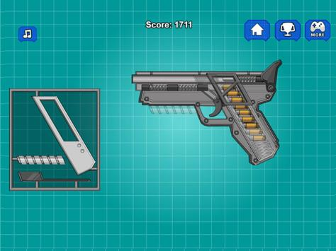 Assemble Toy Gun Pistol screenshot 4