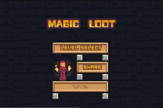 Magic loots poster