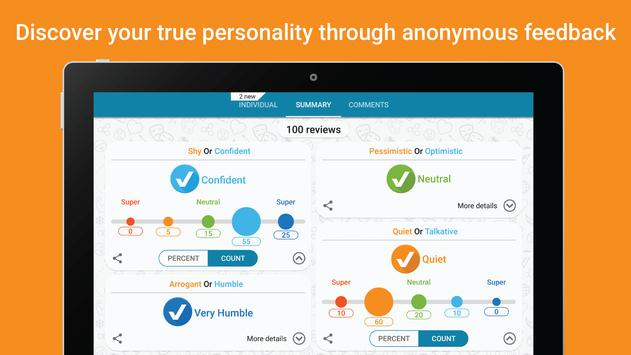 TrueMe - Discover your true personality apk screenshot