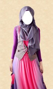 Hijab Fashion Photo Editor poster