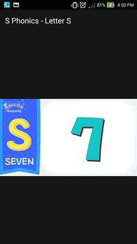 S Phonics Letter Alphabet Song screenshot 4