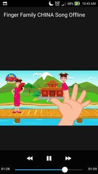 Finger Family CHINA Offline Song for Kids Learning screenshot 1