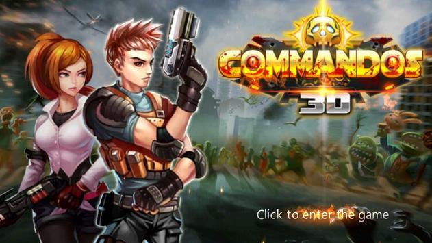 commandos3D poster