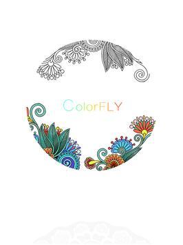Colorfly : Coloring Games apk screenshot