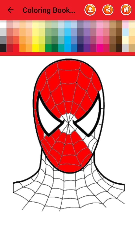 Libro De Colorear Para Spider Man For Android Apk Download