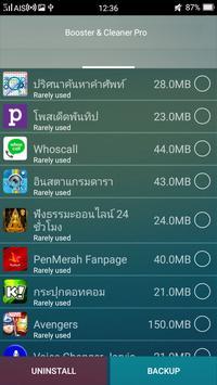 Booster Cleaner PRO apk screenshot
