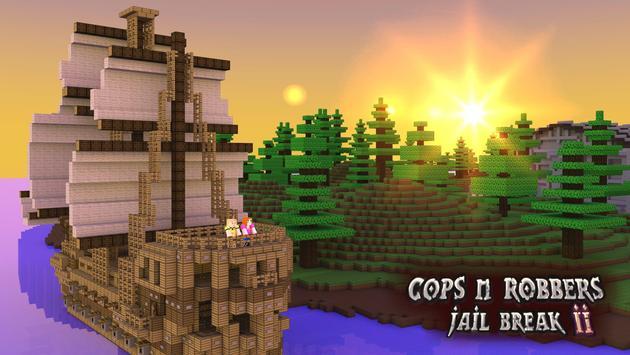 Cops N Robbers: Pixel Prison Games 2 स्क्रीनशॉट 3
