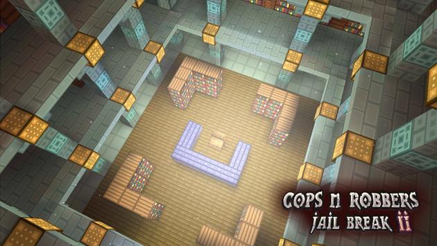 Cops N Robbers: Pixel Prison Games 2 स्क्रीनशॉट 2