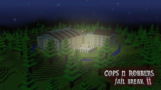 Cops N Robbers: Pixel Prison Games 2 स्क्रीनशॉट 4