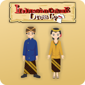 Indonesian Culture Dress Up icon