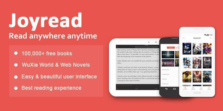 joyread wuxia novel and free ebook reader apk ダウンロード 無料