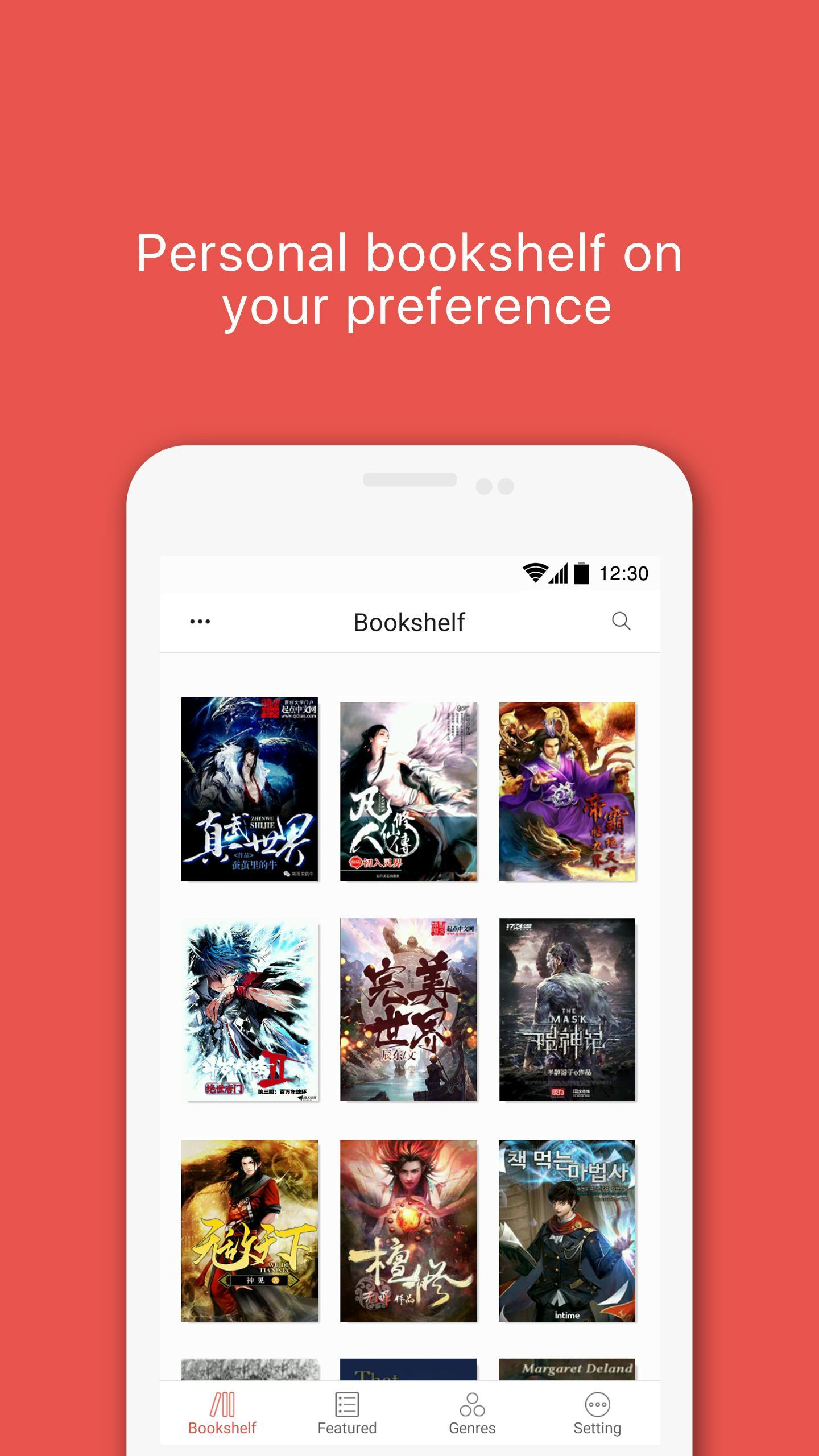JoyRead - WuXia Novel and Free eBook Reader for Android