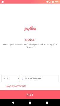 Joyride screenshot 1