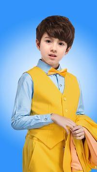 Suit Photo Montage for Kid apk screenshot