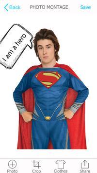 Superhero Photo Montage screenshot 4