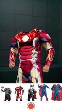 Superhero Photo Montage screenshot 5