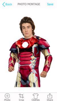 Superhero Photo Montage poster