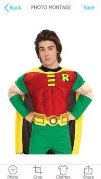 Superhero Photo Montage apk screenshot