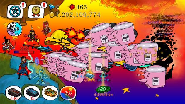 Wizard Defense - Dr. Struggle apk screenshot