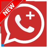 واتس اب بلس الأحمر 2017 prank icon