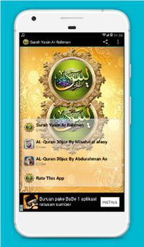Surah Yasin | Ar Rahman poster