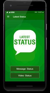 Latest Status for Whatsapp poster