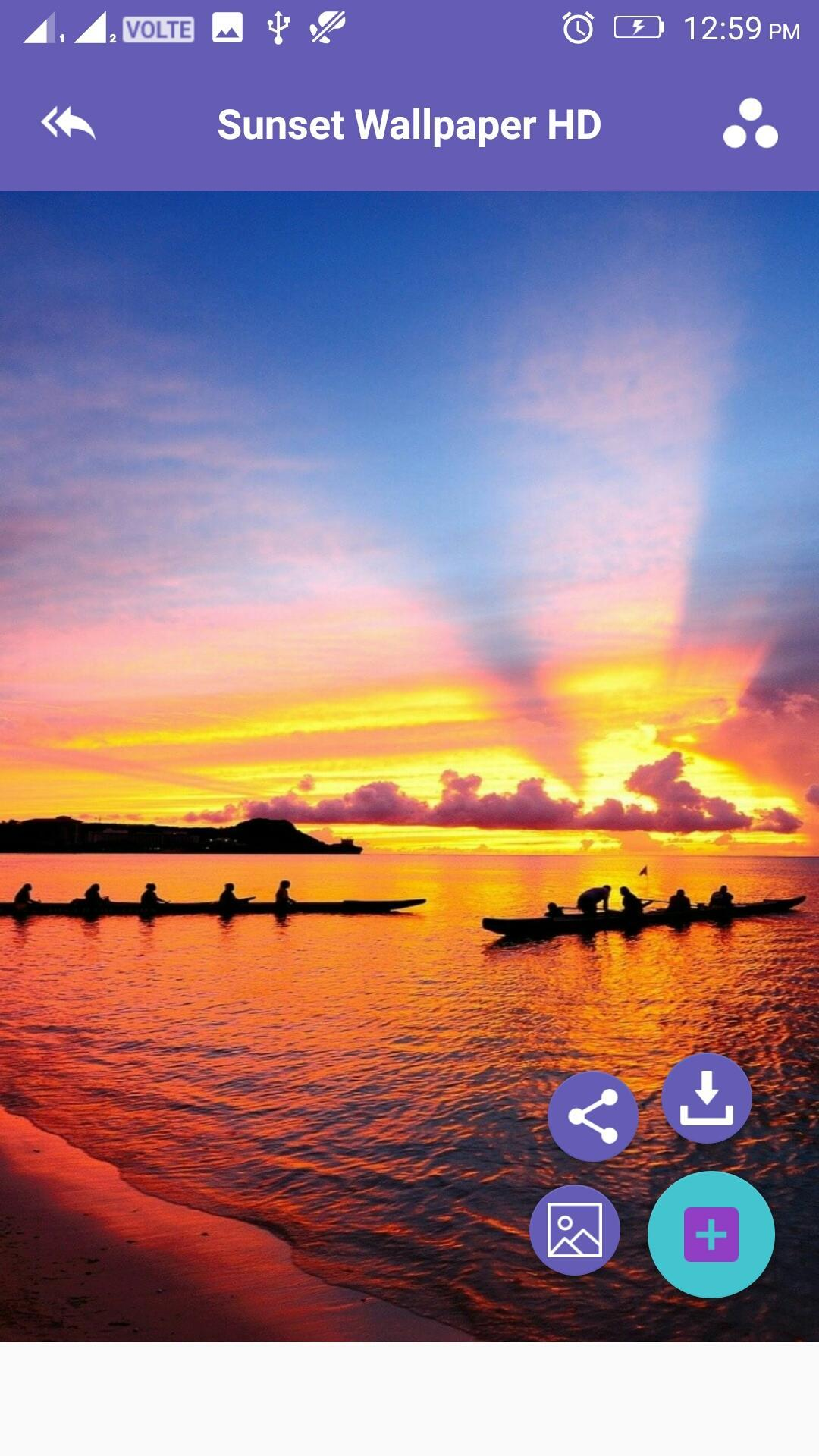 Sunset 4k Wallpaper For Android Apk Download