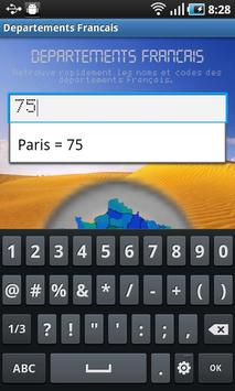 French Departments screenshot 1