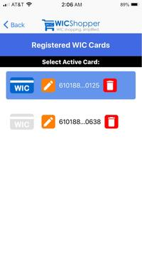 WICShopper screenshot 4