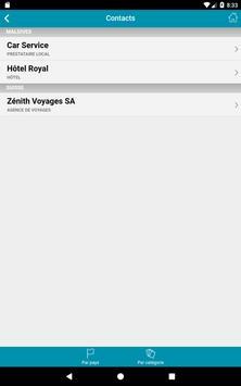 Zénith Voyages apk screenshot