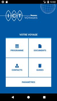 ICT Voyages poster