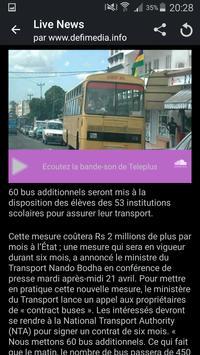Le Defi News apk screenshot