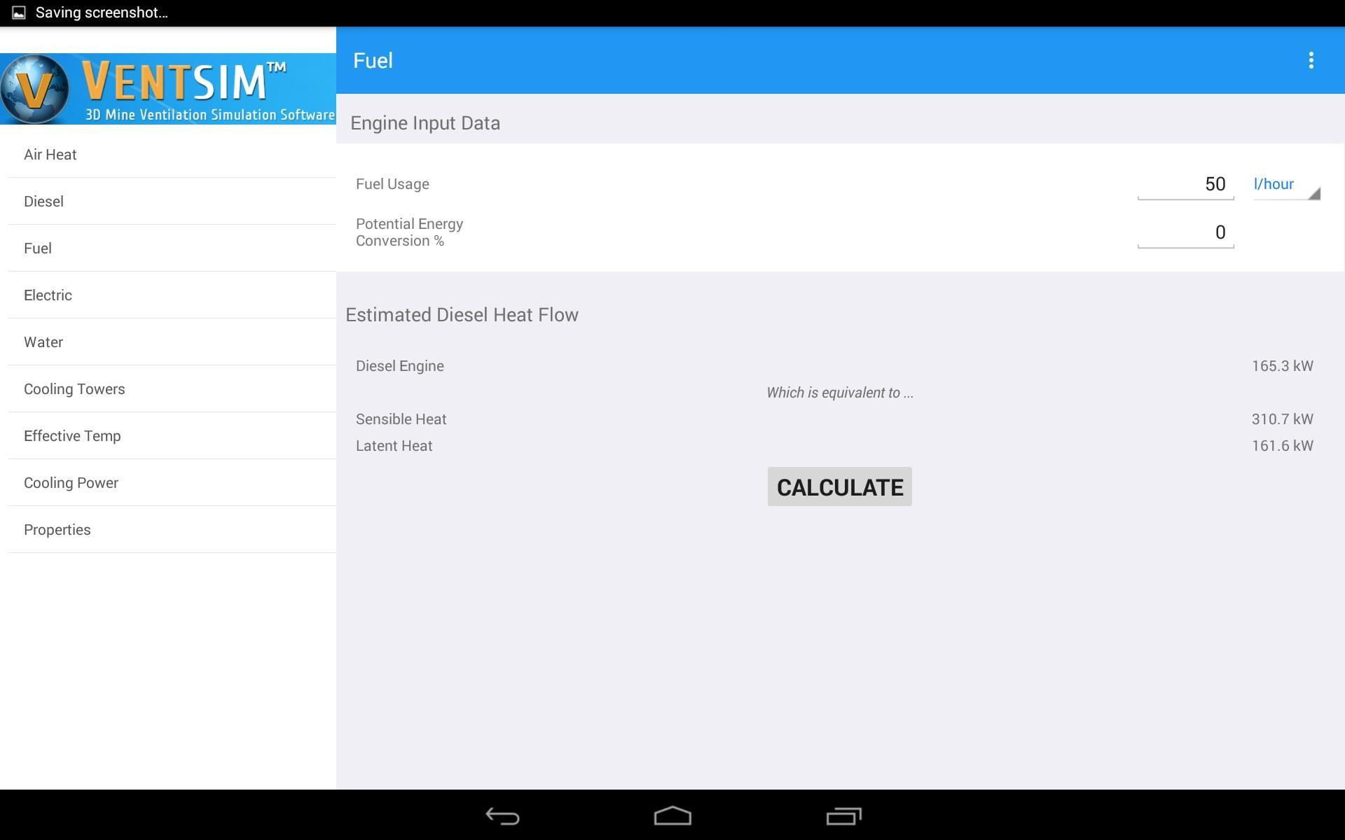 Vent Calculator for Android - APK Download