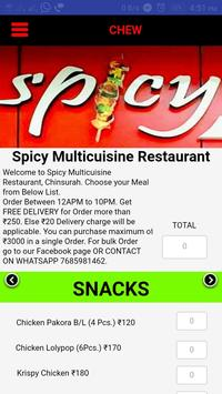 CHEW | Food Order & Delivery apk screenshot