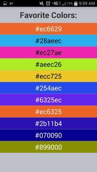 Color Capture & Identifier screenshot 4