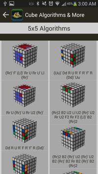 Rubik's Cube Algorithms, Timer screenshot 3