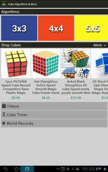 Rubik's Cube Algorithms, Timer screenshot 12