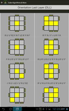 Rubik's Cube Algorithms, Timer screenshot 13