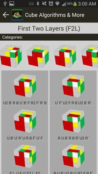 Rubik's Cube Algorithms, Timer screenshot 1