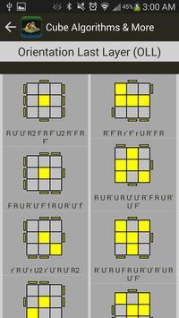 Rubik's Cube Algorithms, Timer screenshot 2