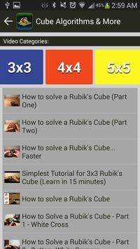 Rubik's Cube Algorithms, Timer screenshot 4