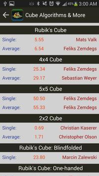 Rubik's Cube Algorithms, Timer screenshot 5
