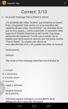 Spanish Practice apk screenshot