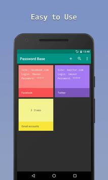PassBase Password Manager apk screenshot